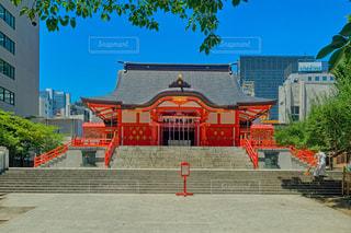 東京新宿の花園神社。の写真・画像素材[1294031]