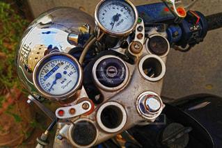 ビンテージバイクの写真・画像素材[1717812]