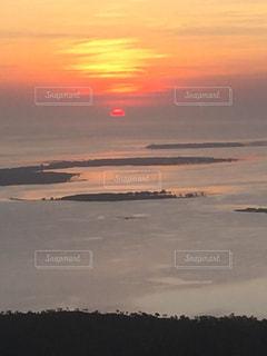 夕陽をの写真・画像素材[2424517]
