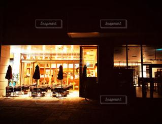 営業後のカフェの写真・画像素材[1347763]