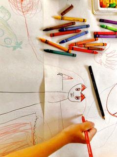 子どもの絵の写真・画像素材[1386468]