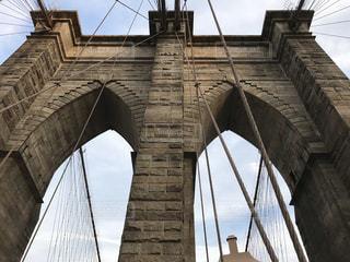 いくつかの水の上の大きな橋の写真・画像素材[1251906]
