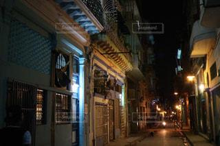 夜の街の写真・画像素材[1252418]