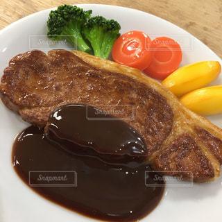 ステーキの食品サンプル - No.1253117