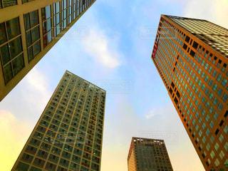 都市の高層ビルの写真・画像素材[1253554]