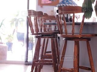椅子の写真・画像素材[65129]