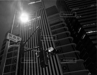都市の黒と白の写真の写真・画像素材[1263401]