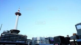 京都駅前の広がりの写真・画像素材[1740380]