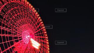 夜闇と観覧車の写真・画像素材[1740904]