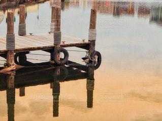 桟橋の写真・画像素材[2940955]