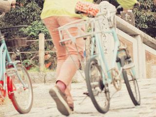 自転車で散策の写真・画像素材[2966201]