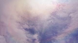 太陽と雲の写真・画像素材[3520098]