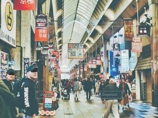 京都の商店街の写真・画像素材[3615943]