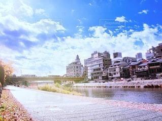 京都鴨川 三条四条の写真・画像素材[3920300]