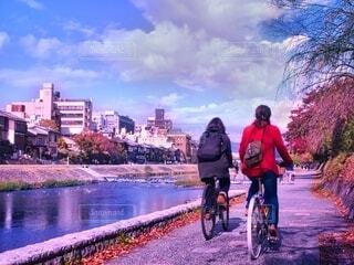 サイクリングの写真・画像素材[3990982]