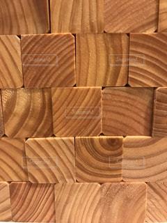 木のサイコロ!の写真・画像素材[1307481]