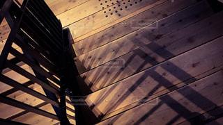 木製ベンチの写真・画像素材[1624006]