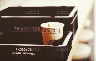 一杯のコーヒーの写真・画像素材[1722514]