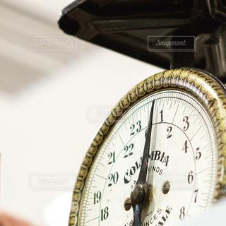 壁に掛かっている時計の写真・画像素材[2283544]