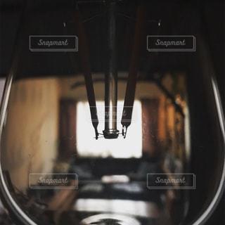 サイドビューミラーのクローズアップの写真・画像素材[2720435]