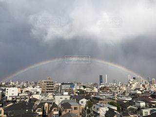 虹の街の写真・画像素材[1257539]