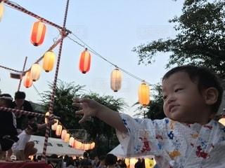 初めてのお祭りの写真・画像素材[1320491]