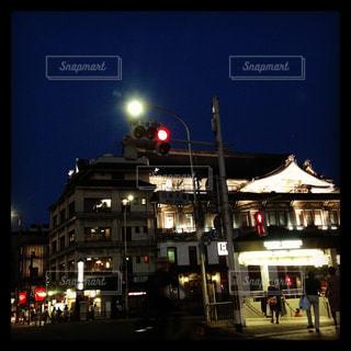 夜の街の景色の写真・画像素材[1264566]