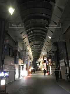 板橋区 大山 夜の商店街の写真・画像素材[1260675]