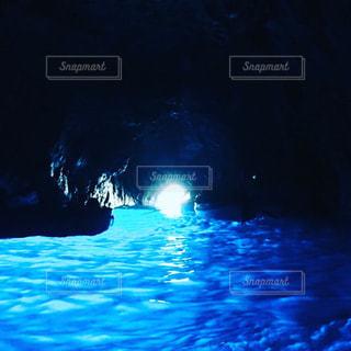 イタリア 青の洞窟の写真・画像素材[1258966]