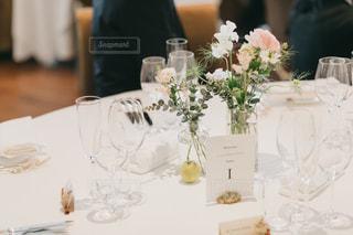 ゲストテーブルの写真・画像素材[1418386]