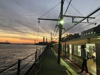 終点の駅は海の写真・画像素材[1656299]