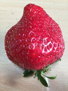 大きい苺の写真・画像素材[1268339]