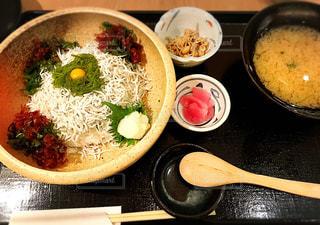 江ノ島のしらす丼の写真・画像素材[1763020]