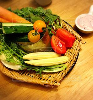 野菜スティックの写真・画像素材[1763035]