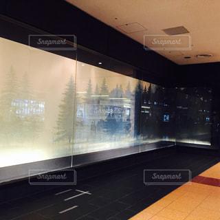 羽田空港にある千住博氏の絵画の写真・画像素材[1782589]