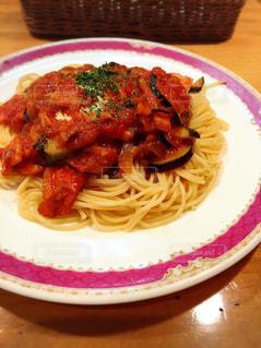 トマトソーススパゲッティの写真・画像素材[1786441]