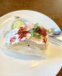 食後のデザートの写真・画像素材[1838300]