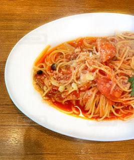 トマトソーススパゲッティの写真・画像素材[1853875]