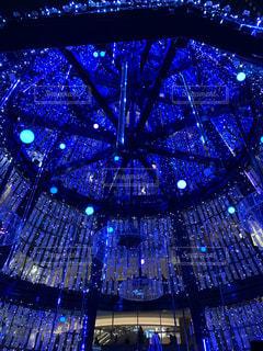 東京ミッドタウン日比谷のクリスマスイルミネーション2019の写真・画像素材[3139244]