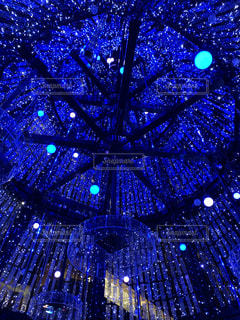 東京ミッドタウン日比谷のクリスマスイルミネーションの写真・画像素材[3139245]