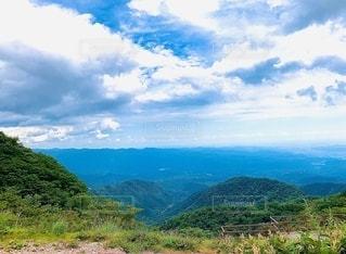山の眺めの写真・画像素材[3556002]