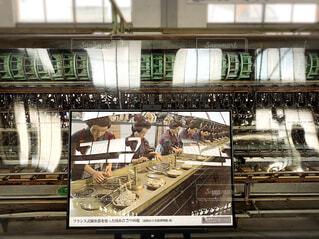 世界遺産、富岡製糸場の繰糸所の写真・画像素材[4296449]