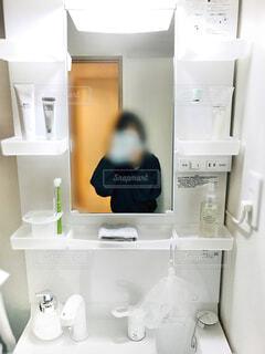 マイルーム・洗面所の写真・画像素材[4302479]
