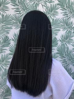 黒髪ストレートの女性の写真・画像素材[3309448]