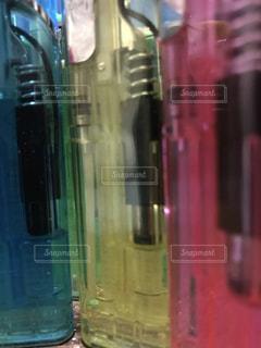 クローズ ボトルのアップの写真・画像素材[1262858]