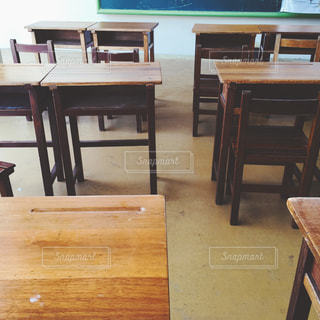 レトロな教室の写真・画像素材[1263253]