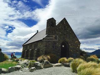 ニュージーランド 南島 テカポ 善き羊飼いの教会の写真・画像素材[1263521]