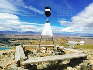 山の頂上の写真・画像素材[1264602]