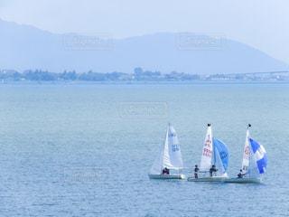 海とヨットの写真・画像素材[1294587]