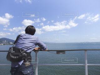 夏の船旅の写真・画像素材[1294596]